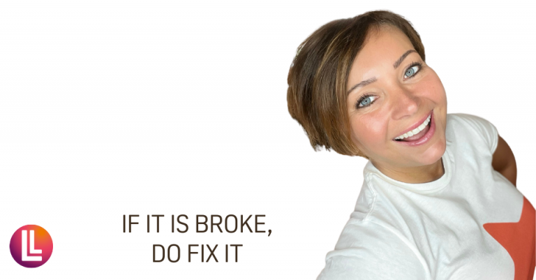 If it is broke, do fix it